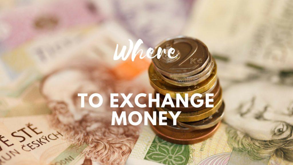 where to exchange money in prague
